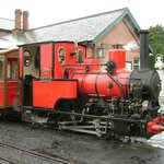 No.6 Douglas at Tywyn Station.