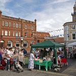 Market Day in Harleston.