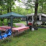 Camping at Loft Mountain
