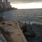 View From Al Dirwandi .. the Corniche