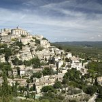 Nearby town of Gordes