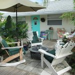 One of several gathering areas to enjoy with other guests