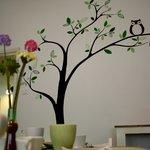 Salone delle colazioni - parete decorata