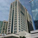 exteiror of Panama Marriott Hotel