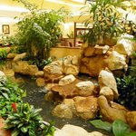 A stream in the Atrium