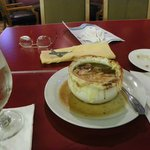French onion soup 7.00 ..4/10