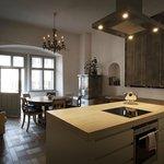 Wohnküche in der Wohnung für 8 Personen