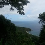 view going to tamaraw falls