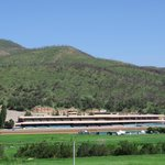 Ruidoso Racecourse (View From The Driveway)