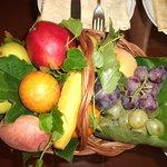 frutta in camera