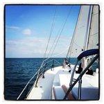 Raise the sail.