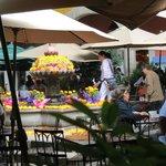Plaza San Jacinto, restaurantes