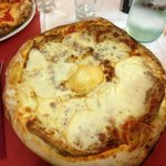 pizza con melanzane e scamorza