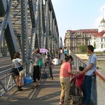 Hotel (behind Russian consulate) over Waibaidu bridge