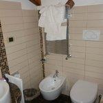 Banheiro do quarto triplo