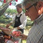 Le bon gras du jambon de porc noir de Bigorre de Pierre Mateyron