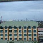 View over adjacent Boma Inn to Nairobi
