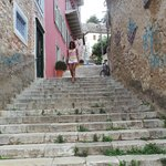 Steps Leading To Hotel
