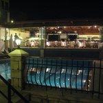 Aqua Princess Restaurant by night