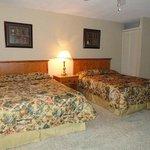 Bedroom of One-Bedroom Suite