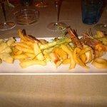 Leggerissima e gustosa frittura di pesce
