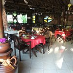 Villa Sumbing restaurant