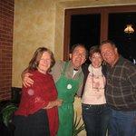 Marla, Fabrizio, and friends