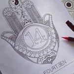 FOURTEEN Logo