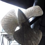 one of the propellers