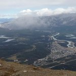 Town of Jasper from Whistlers