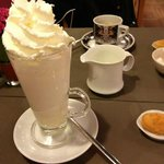 Lovely white hot chocolate