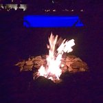 Fire pits at the pool. Beautuful view of the ocean.