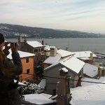 La neve a Volosko