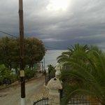 a rainy day at Ellinon Pelagos