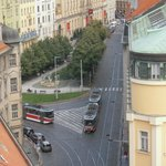 trams below