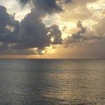 Sunset veiw at Rhythms at Rainbow Beach