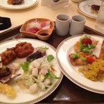 夕食ビュッフェ。一人¥4620