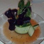 Fancy Salad at Waterwheel Restaurant