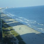 beach from skywheel