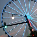 skywheel at nite