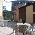 Disentis - Hotel Alpsu - Terrasse