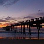 Sunrise at the Avon Pier