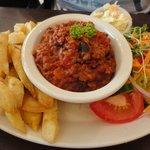 Strange tasting chilli con carne
