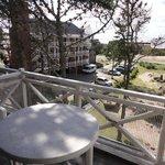 Vista desde el balcón del living