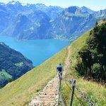The hike from Klingenstock