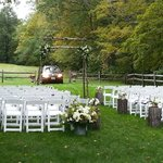 What a beautiful spot for a wedding!
