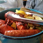 Clambake for two - delicious!