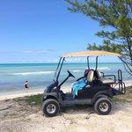 $50 golf cart rental. Worth it