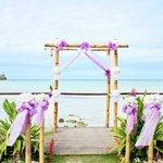 Ceremony set up- Beautifull