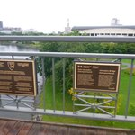 Placa de identificação da Ponte